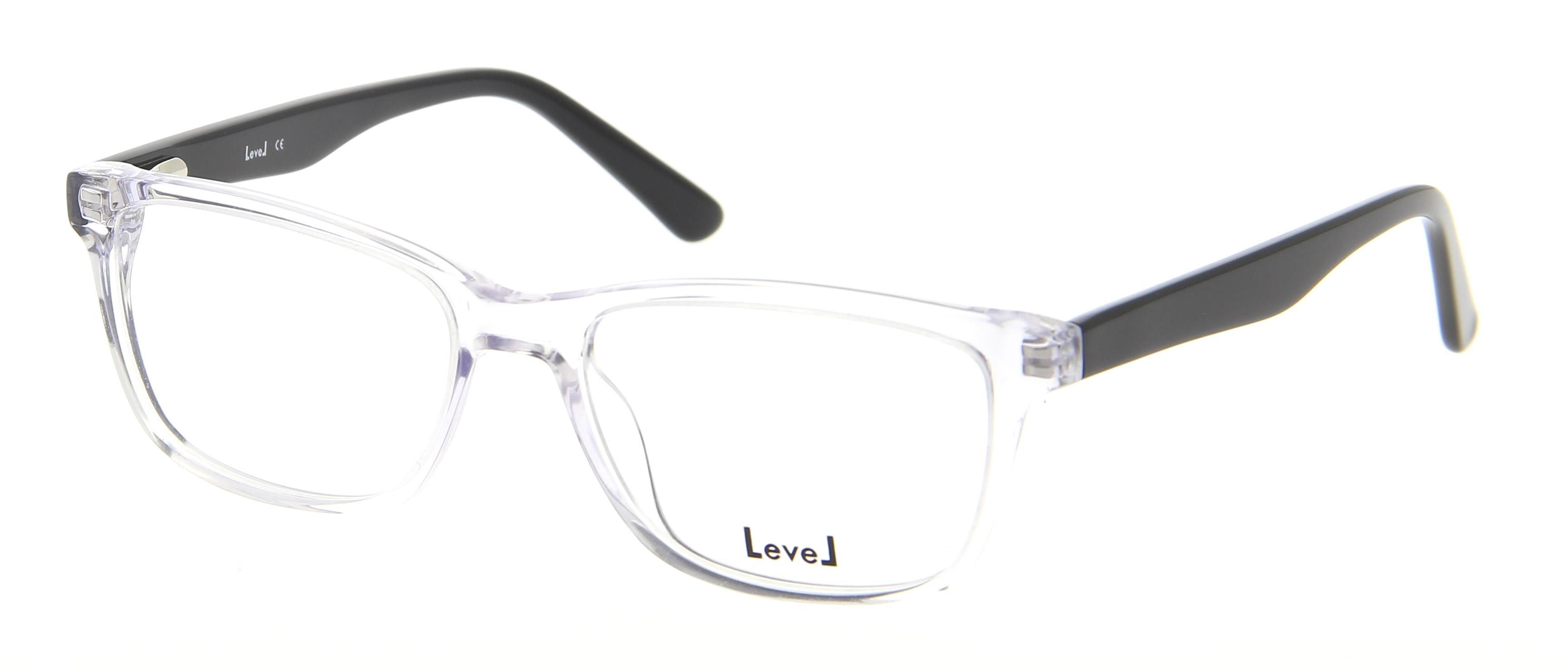 lunettes de vue level le 1511 cris 51 16 femme transparente ovale cercl e tendance 51mmx16mm 72. Black Bedroom Furniture Sets. Home Design Ideas