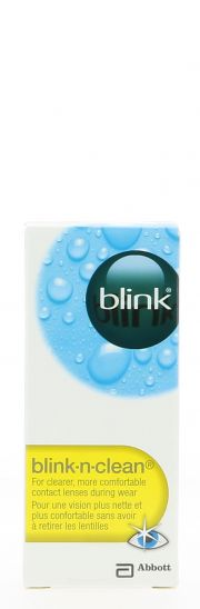 Contact lenses easy-care-solutions AMO BLINK