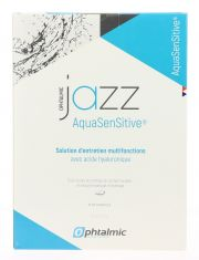 LENTILLAS Liquidos de mantenimiento OPHTALMIC JAZZ AQUA SENSITIVE 3x350ML