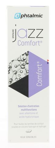 Contact lenses easy-care-solutions OPHTALMIC JAZZ COMFORT 360ML