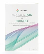 עדשות מגע תמיסות MENICON PACK ECO MENICARE PURE + PROGENT
