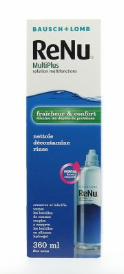 Contact lenses easy-care-solutions BAUSCH & LOMB RENU MULTIPLUS 360 ml