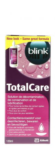 Contact lenses easy-care-solutions AMO TOTAL CARE DECONTAMINATION 120 ml